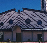 La facciata principale