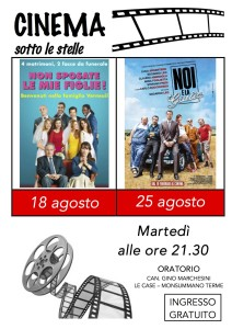 CINEMA sotto le stelle 2015 2